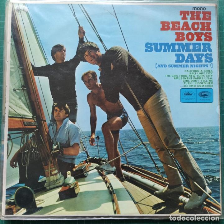 THE BEACH BOYS - SUMMER DAYS (AND SUMMER NIGHTS!!) (LP, ALBUM, MONO) (1966/UK) (Música - Discos - LP Vinilo - Pop - Rock Internacional de los 50 y 60)