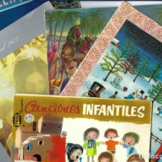 Discos de vinilo: LOTE DE 5 VINILOS. LP- SINGLES. CANCIONES INFANTILES. NAVIDAD. VILLANCICOS. NADALENQUES. BON NADAL. Lote 262790965