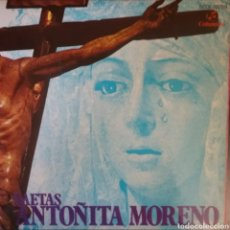 Discos de vinilo: ANTOÑITA MORENO. EP. SELLO COLUMBIA . EDITADO EN ESPAÑA. AÑO 1962. Lote 262791390
