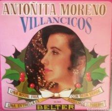Discos de vinilo: ANTOÑITA MORENO. EP. SELLO BELTER. EDITADO EN ESPAÑA. AÑO 1968. Lote 262791560