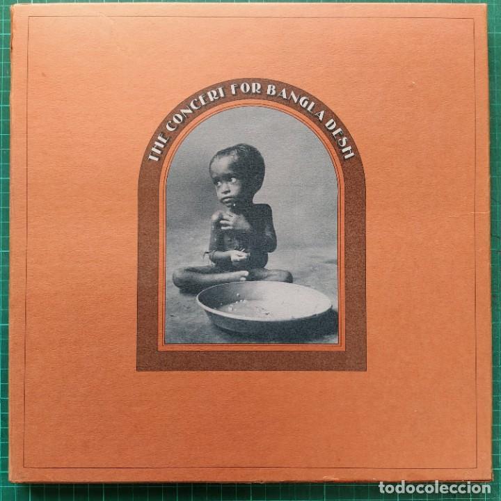 THE CONCERT FOR BANGLA DESH (APPLE RECORDS STCX 3385) 3 × VINYL (1972/EDICIÓN INGLESA) (Música - Discos - LP Vinilo - Pop - Rock - Internacional de los 70)