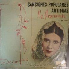 Discos de vinilo: LA ARGENTINITA. EP. SELLO LA VOZ DE SU AMO. EDITADO EN ESPAÑA.. Lote 262792735