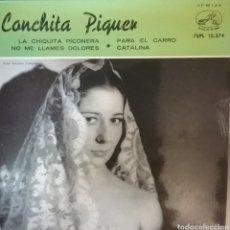 Discos de vinilo: CONCHITA PIQUER. EP. SELLO LA VOZ DE SU AMO. EDITADO EN ESPAÑA. AÑO 1960. Lote 262793140