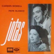 Discos de vinilo: CARMEN MORELL Y PEPE BLANCO. EP. SELLO ODEON. EDITADO EN ESPAÑA. AÑO 1958. Lote 262796490