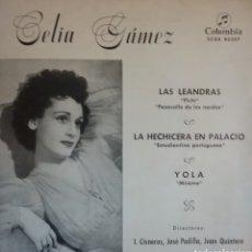 Discos de vinilo: CELIA GAMEZ. EP. SELLO COLUMBIA . EDITADO EN ESPAÑA. AÑO 1960. Lote 262798755