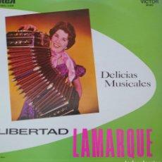 Discos de vinilo: LIBERTAD LAMARQUE LP SELLO RCA VÍCTOR EDITADO EN MÉXICO...AÑO 1958.... Lote 262801420