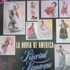 Discos de vinilo: LIBERTAD LAMARQUE LP SELLO OTRA EDITADO EN USA AÑO 1966. Lote 262801775