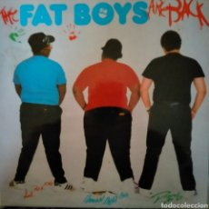 Discos de vinilo: THE FAT BOYS. ARE BACK.. Lote 262803410