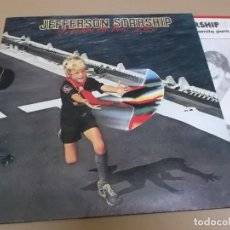 Discos de vinilo: JEFFERSON STARSHIP (LP) FREEDOM AT POINT ZERO AÑO 1979 – PORTADA ABIERTA – PROMOCIONAL + HOJA PROMOC. Lote 262814645