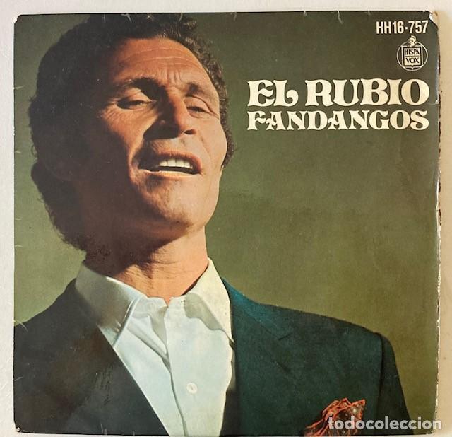 EL RUBIO - FANDANGOS (Música - Discos de Vinilo - EPs - Flamenco, Canción española y Cuplé)