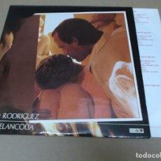 Discos de vinilo: SILVIO RODRIGUEZ (LP) OH MELANCOLIA AÑO 1988 – DOBLE DISCO PORTADA ABIERTA - ENCARTE CON LETRAS. Lote 262815465