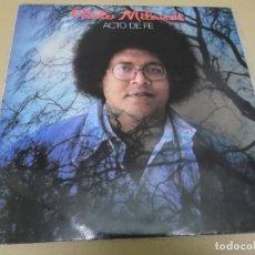 Discos de vinilo: PABLO MILANES (LP) ACTO DE FE AÑO 1985. Lote 262815635