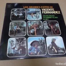 Discos de vinilo: VICENTE FERNANDEZ (LP) LOS GRANDES EXITOS AÑO 1975. Lote 262815850