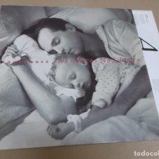 Discos de vinilo: MIGUEL BOSE (LP) LOS CHICOS NO LLORAN AÑO 1989 - ENCARTE CON LETRAS. Lote 288028428