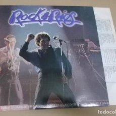 Discos de vinilo: MIGUEL RIOS (LP) ROCK & RIOS AÑO 1982 – DOBLE DISCO + ENCARTE CON LETRAS. Lote 262816870
