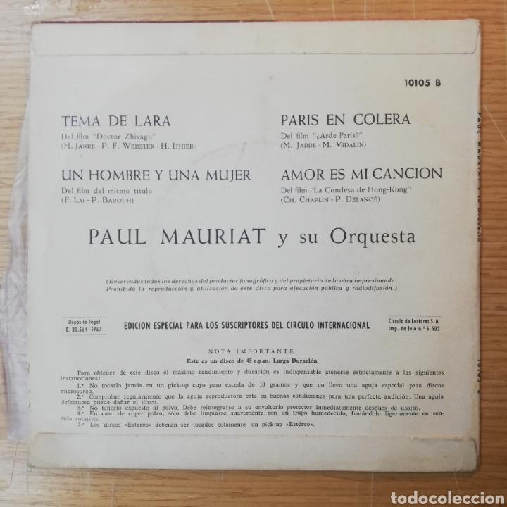Discos de vinilo: Doctor Zhivago vinilo Tema de Lara - Foto 2 - 262817575