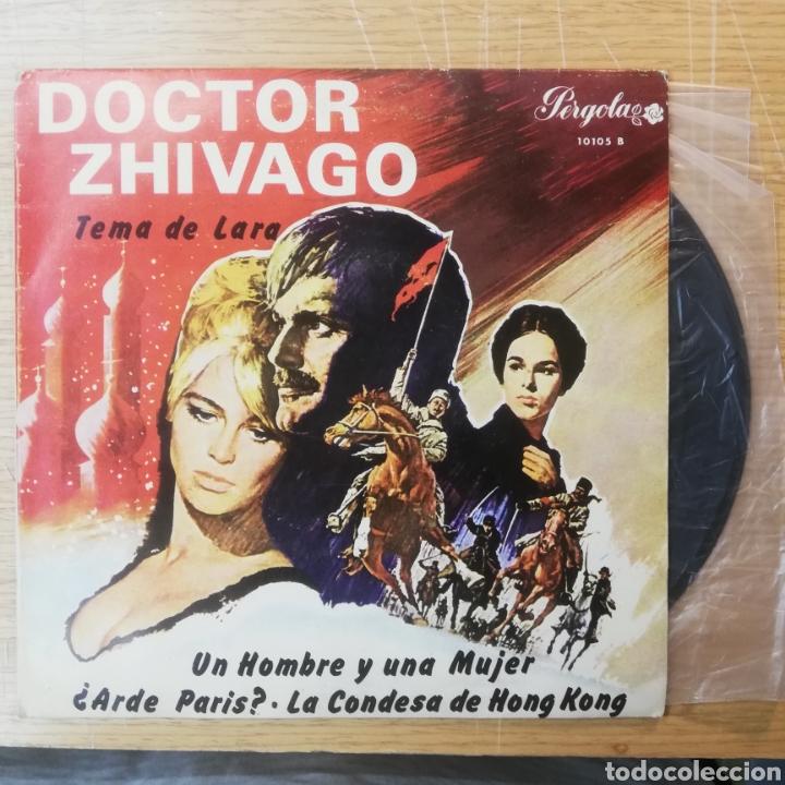 DOCTOR ZHIVAGO VINILO TEMA DE LARA (Música - Discos de Vinilo - EPs - Bandas Sonoras y Actores)