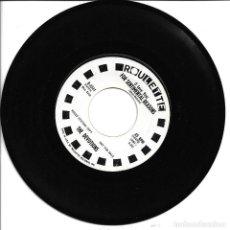 Discos de vinilo: THE DEVOTIONS - RIP VAN WINKLE + FOR SENTIMENTAL REASONS SINGLE USA 1964 PROMO SIN PORTADA. Lote 262819185