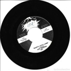 Discos de vinilo: OTIS REDDING - MARY'S LITTLE LAMB + THAT'S WHAT MY HEART NEEDS SINGLE USA 1963 PROMO SIN PORTADA. Lote 262819620