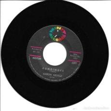 Discos de vinilo: AARON NEVILLE - HUMDINGER + SWEET LITTLE MAMA SINGLE 1962 SIN PORTADA USA. Lote 262819950