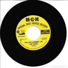 Discos de vinilo: BEN COLDER - I WALK THE LINE Nº2 + TALK BACK BLUBERRIN SINGLE PROMO USA 1970 SIN PORTADA. Lote 262821870