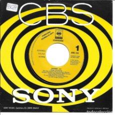 Discos de vinilo: CHAYANNE - EXXTASIS SINGLE PROMO SPAIN 1993 SIN PORTADA. Lote 262821950