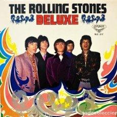 Discos de vinilo: THE ROLLING STONES – DELUXE / UN ÁLBUM RECOPILATORIO RARO SOLO LANZADO EN JAPÓN / ONLY FOR JAPAN. Lote 262826525