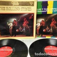 Discos de vinilo: THE ROLLING STONES – COM PACK /1971 CONJUNTO DE LP DOBLE DE 26 PISTAS SOLO EN JAPONÉS (ONLY JAPAN ). Lote 262826540