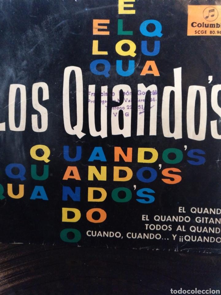 LOS QUANDO'S.** EL QUANDO * EL QUANDO GITANO * TODOS AL QUANDO.....** (Música - Discos de Vinilo - EPs - Solistas Españoles de los 50 y 60)