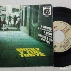 Discos de vinilo: EP MICKY Y LOS TONYS, NO COMPRENDEMOS PORQUE...+ UP AND DOWN + CUARTO INTENTO DE EXITO +1. Lote 262849550