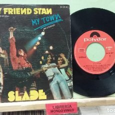 Discos de vinilo: SLADE. MY FRIEND STAN / MY TOWN. POLYDOR 1973, REF. 20 28 407 - SINGLE. Lote 262853415