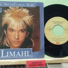 Discos de vinilo: LIMAHL. THE NEVER ENDING STORY / IVORY TOWER. EMI 1984 - SINGLE. Lote 262854940