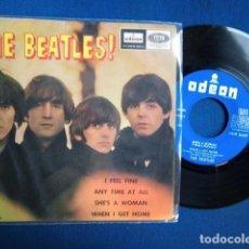 Dischi in vinile: BEATLES SINGLE EP EDITADO POR EMI ODEON ESPAÑA ORIGINAL EPOCA CONJUNTO BEAT AÑOS 60. Lote 262856415