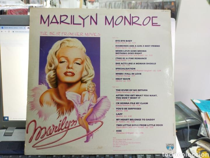 Discos de vinilo: Marilyn Monroe lp the BEST from her movies Italia 1986 - Foto 2 - 262862370