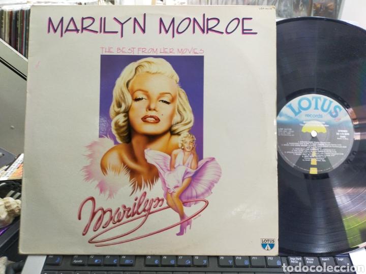 MARILYN MONROE LP THE BEST FROM HER MOVIES ITALIA 1986 (Música - Discos - LP Vinilo - Pop - Rock Internacional de los 50 y 60)