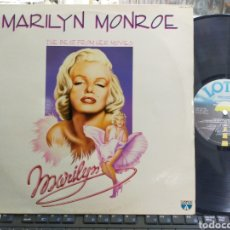 Discos de vinilo: MARILYN MONROE LP THE BEST FROM HER MOVIES ITALIA 1986. Lote 262862370
