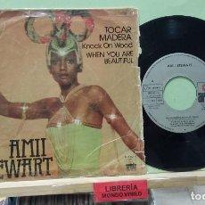 Discos de vinilo: AMII STEWART. KNOCK ON WOOD / WHEN YOU ARE BEATIFUL. ARIOLA 1978, REF. 100.341 - SINGLE. Lote 262863005