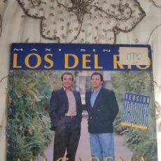 Discos de vinilo: VINILO MAXISINGLE - LOS DEL RIO - MACARENA - REMEZCLADO POR FANGORIA. Lote 262864395