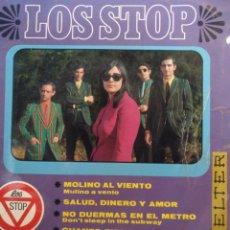 Discos de vinilo: LOS STOP.** MULINO A VENTO * SALUD DINERO Y AMOR * DON'T SLEEP IN THE SUBWAY * HOW MUCH LONGER...**. Lote 262870795