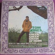 Disques de vinyle: LP - TOM JONES - GREEN, GREEN GRASS OF HOME (ENGLAND, DECCA RECORDS 1967)7. Lote 262878630