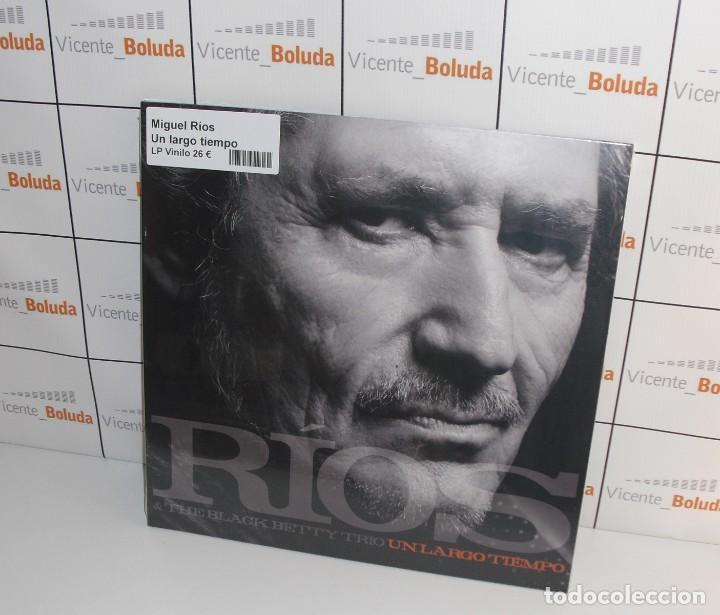 MIGUEL RÍOS UN LARGO TIEMPO (LP-VINILO) NUEVO Y PRECINTADO ENVIÓ CERTIFICADO A ESPAÑA 2 € (Música - Discos - LP Vinilo - Otros estilos)