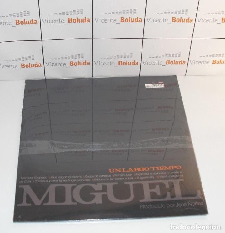Discos de vinilo: Miguel Ríos UN LARGO TIEMPO (LP-VINILO) nuevo y precintado envió certificado a España 2 € - Foto 2 - 262508005