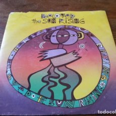 Discos de vinilo: BELOVED - THE SUN RISING, EUROVISIONARY - SINGLE ORIGINAL WEA RECORDS IMPORTACION 1989. Lote 262886915
