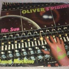 Discos de vinilo: SINGLE OLIVER'S PLANET - MR SUN - DANCE MACHINE - ARIOLA 100.704A -PEDIDO MINIMO 7€. Lote 262894770