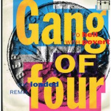 Discos de vinilo: GANG OF FOUR - MAXI SINGLE 1981 - ED. UK. Lote 262899160