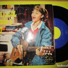 Discos de vinilo: MARISOL RUMBO A RIO DISCO HECHO EN MEXICO + MUCHACHITA + VISTAS DE RIO + TONY. Lote 262905715