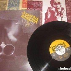 Discos de vinilo: LA ARMERIA - - MINI LP (1993 DA CAPPO + HOJA CON LETRAS) OG ESPAÑA EXCELENTE CONDICION. Lote 262905760