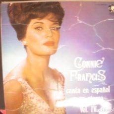 Discos de vinil: CONNIE FRANCIS- CANTA EN ESPAÑOL NY EN STEREO VOL IV. LP.. Lote 262909930
