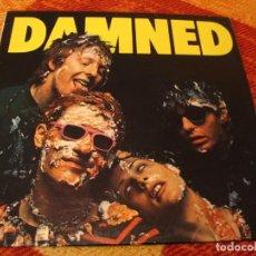 Discos de vinilo: THE DAMNED LP DAMNED DAMNED DAMNED STIFF ORIGINAL ALEMANIA 1977 LAMINADA. Lote 262911585