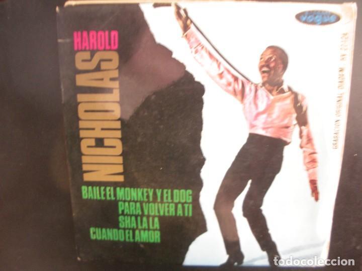 HAROLD NICHOLAS- BAILE EL MONKEY Y EL DOG. EP (Música - Discos de Vinilo - EPs - Funk, Soul y Black Music)